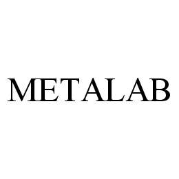 mark for METALAB, trademark #78977247