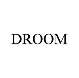 mark for DROOM, trademark #78977447