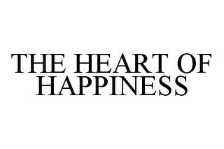 mark for THE HEART OF HAPPINESS, trademark #78977545
