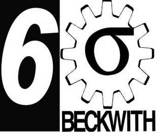 mark for 6 BECKWITH, trademark #78977595