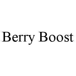 mark for BERRY BOOST, trademark #78977991