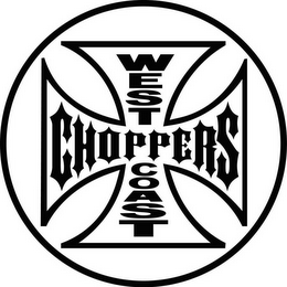 mark for WEST COAST CHOPPERS, trademark #78978013