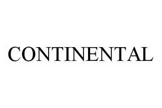 mark for CONTINENTAL, trademark #78978054