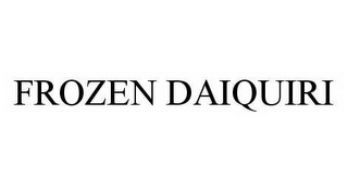 mark for FROZEN DAIQUIRI, trademark #78978403