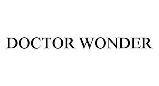 mark for DOCTOR WONDER, trademark #78978844