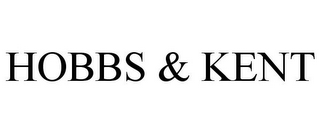 mark for HOBBS & KENT, trademark #78979030