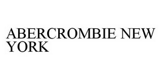 mark for ABERCROMBIE NEW YORK, trademark #78979392