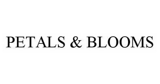 mark for PETALS & BLOOMS, trademark #78979407