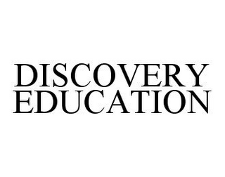 mark for DISCOVERY EDUCATION, trademark #78981520