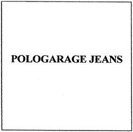 mark for POLOGARAGE JEANS, trademark #79000060