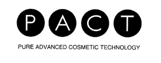 mark for PACT PURE ADVANCED COSMETIC TECHNOLOGY, trademark #79000667