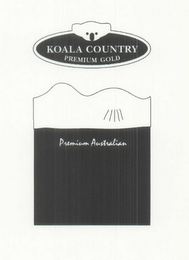 mark for KOALA COUNTRY PREMIUM GOLD PREMIUM AUSTRALIAN, trademark #79001024