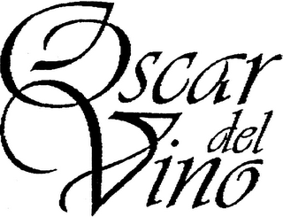 mark for OSCAR DEL VINO, trademark #79003461