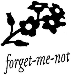 mark for FORGET-ME-NOT, trademark #79003593
