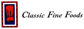 mark for CLASSIC FINE FOODS, trademark #79020080