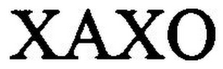 mark for XAXO, trademark #79024879