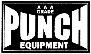 mark for AAA GRADE PUNCH EQUIPMENT, trademark #79028790