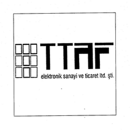 mark for TTAF ELEKTRONIK SANAYI VE TICARET LTD. STI., trademark #79034104