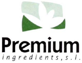 mark for PREMIUM INGREDIENTS, S.L., trademark #79036327