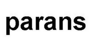 mark for PARANS, trademark #79037524