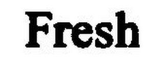 mark for FRESH, trademark #79038425