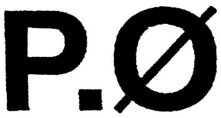 mark for P.Ø, trademark #79042511