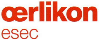 mark for OERLIKON ESEC, trademark #79054490