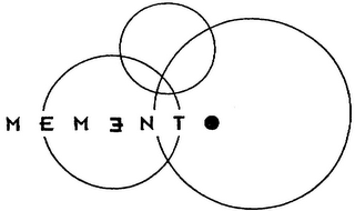mark for MEMENTO, trademark #79057060