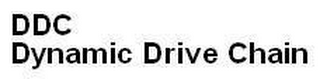 mark for DDC DYNAMIC DRIVE CHAIN, trademark #79057388