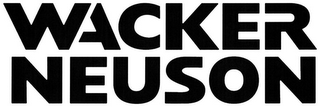 mark for WACKER NEUSON, trademark #79059514