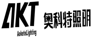 mark for AKT AOKETELIGHTING, trademark #79069279
