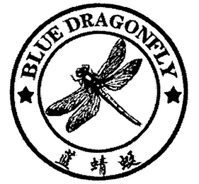 mark for BLUE DRAGONFLY, trademark #79069518