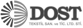 mark for DOST TEKSTIL SAN. VE TIC. LTD. STI, trademark #79071378