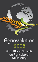 mark for AGRIEVOLUTION 2008 FIRST WORLD SUMMIT ON AGRICULTURAL MACHINERY, trademark #79071452