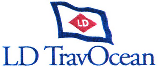 mark for LD TRAVOCEAN, trademark #79071458