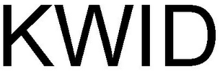 mark for KWID, trademark #79072002