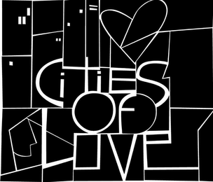 mark for CITIES OF LOVE, trademark #79074614