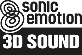mark for SONIC EMOTION 3D SOUND, trademark #79075000