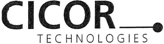 mark for CICOR TECHNOLOGIES, trademark #79075096
