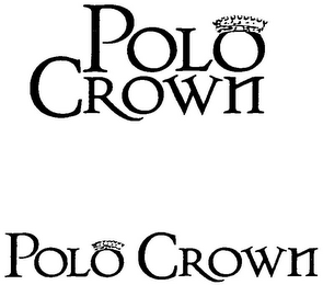 mark for POLO CROWN POLO CROWN, trademark #79076967