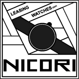 mark for NICORI LEASING WATCHES.COM, trademark #79076974