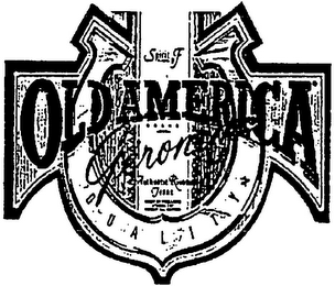 mark for SPIRIT OF OLDAMERICA GROUND QUALITY, trademark #79078199