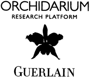 mark for ORCHIDARIUM RESEARCH PLATFORM GUERLAIN, trademark #79078367