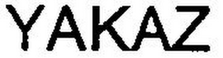 mark for YAKAZ, trademark #79079533