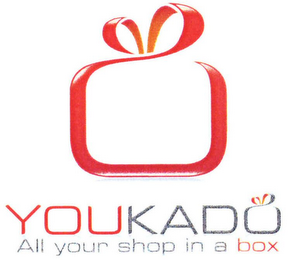 mark for YOUKADO ALL YOUR SHOP IN A BOX, trademark #79079723