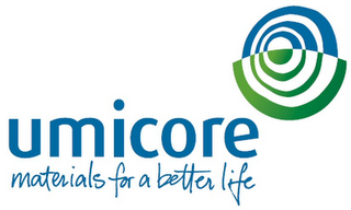 mark for UMICORE MATERIALS FOR A BETTER LIFE, trademark #79081941