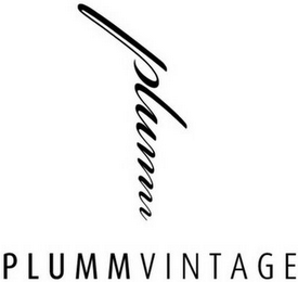 mark for PLUMM PLUMMVINTAGE, trademark #79083173