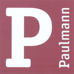 mark for P PAULMANN, trademark #79084345