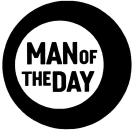 mark for MAN OF THE DAY, trademark #79084486