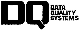 mark for DQ DATA QUALITY SYSTEMS, trademark #79085787